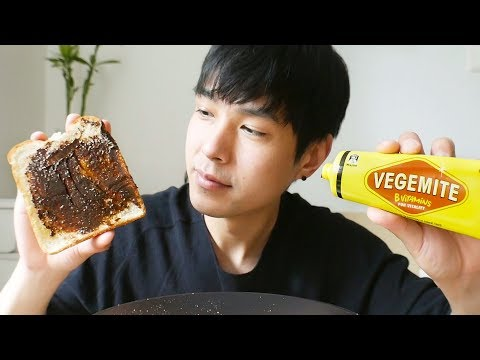 Trying VEGEMITE For The First Time