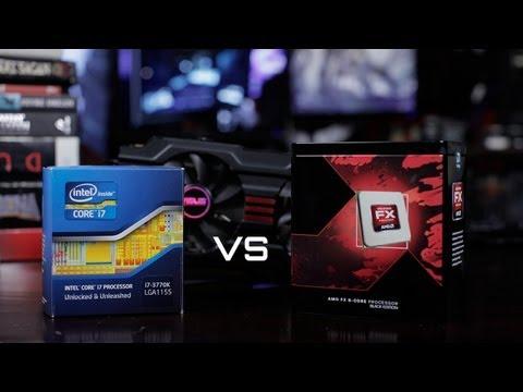 Crysis 3 Benchmarks | AMD FX 8350 vs Intel i7 3770k - Both Overclocked