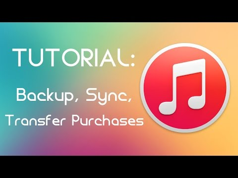 iTunes -  Backup, Sync dan Transfer Purchases
