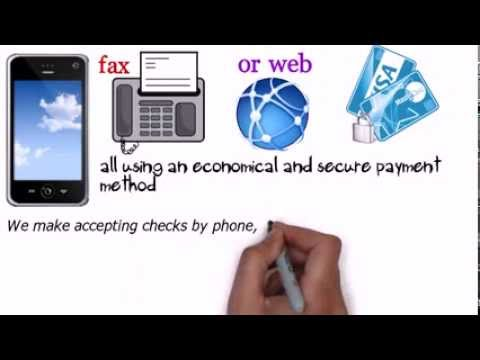 Accept Check By Fax | e check direct | (818) 538-7885 | What Is Check By Phone ?