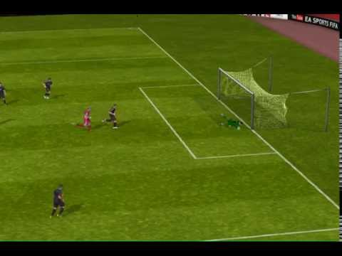 FIFA 14 iPad - Goalkeeper Freeckick Goal