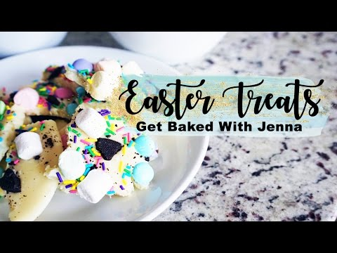 EASTER TREATS! || Get Baked With Jenna.
