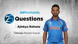 25 Questions with Ajinkya Rahane: Favourite Mumbai Snack?