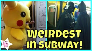 The Weirdest People Ever Spotted Riding On The Subway