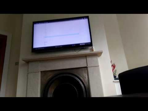 Sony KDL-55HX853 web browsing