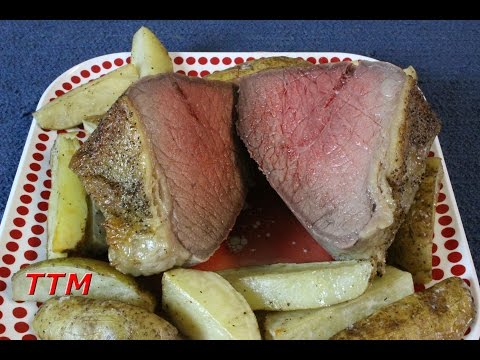 How to Brine and Cook a Rump or Bottom Round Beef Roast in the Oven