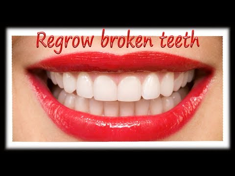 REGROW broken teeth, naturally for ALL AGES