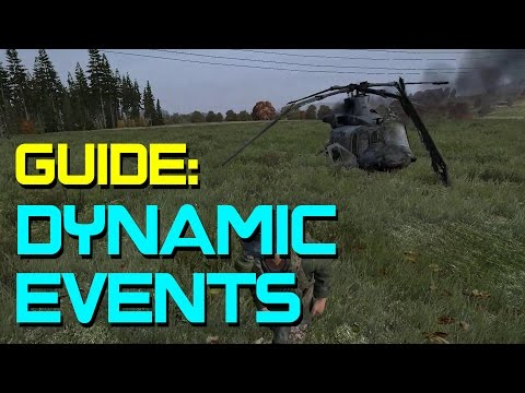 Dynamic Events in DayZ | Police/Boat/Heli Loot Route