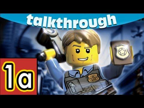 Lego City Undercover Walkthrough Chapter 1 Part 1 Wii U