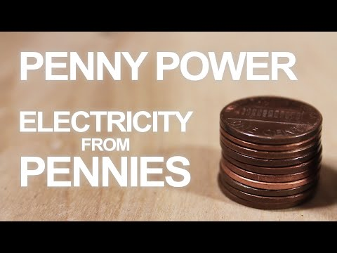 How To Make a 3 Penny Battery