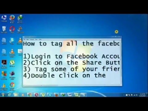 Tag all facebook friends in timeline post in one click