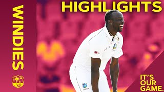 Roach Keeps Hosts in Control at Stumps!   Windies vs India 1st Test Day 1 2019 - Highlights