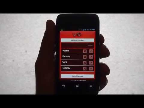 UrgentCall App Emergency Contact Service