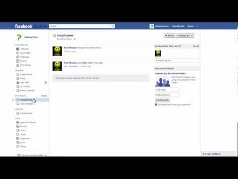How to organize friends into different lists in Facebook