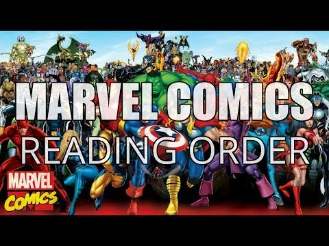 MARVEL COMICS READING GUIDE