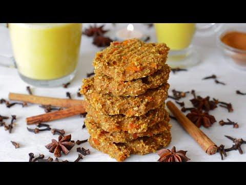 Banana Oat Pumpkin Spiced Cookies