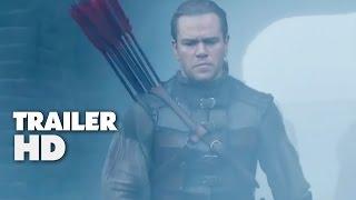 The Great Wall - Official Film Trailer 2016 - Matt Damon, Pedro Pascal Movie HD