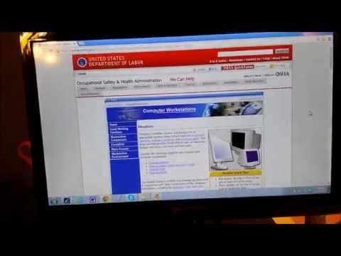 Product Review w/ergonomics Element television/monitor & Fellowes monitor riser