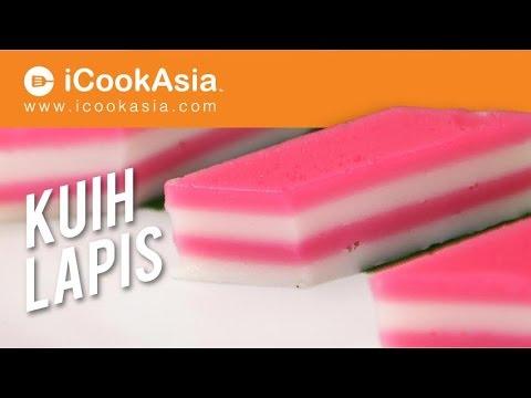 Kuih Lapis | Lapis Cake | Try Masak | iCookAsia