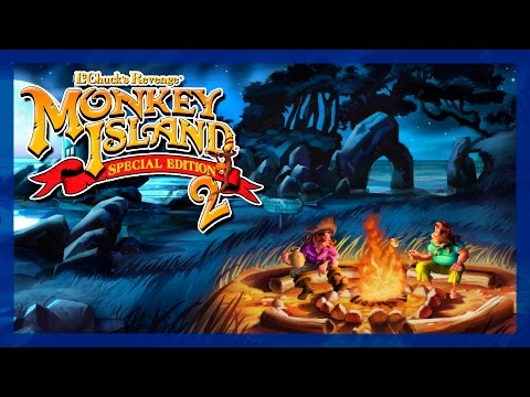 Monkey Island 2 Special Edition - MEETING LARGO - Classic Point & Click Adventure Game