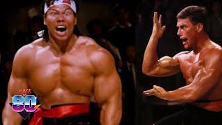 Bloodsport Van Damme Full Final Fight, 4k film editing, Parliament cinema Club,