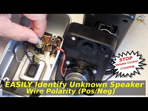 Quick Tip ~ Easily Identify Speaker Wire Polarity + More