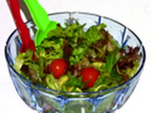 How To Make Green Garden Salad Recipe - Great Barbecue Side