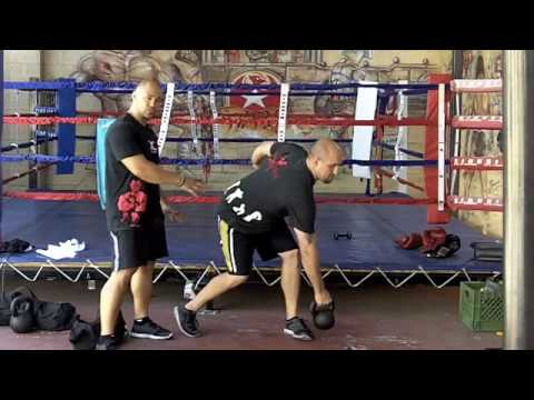 MMA Training Fighting Fitness Workouts | Ultimate Sandbag and Kettlebell training