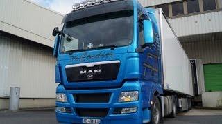 Un tour de Paris en camion ( Man TGX 480 - Tps Cordier 25 )