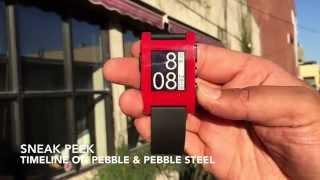 Sneak Peek: Timeline for Pebble and Pebble Steel