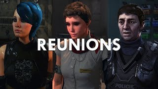 Deus Ex: Mankind Divided - Reuniting With Edward, Irenka, And Milena From The Golden Ticket