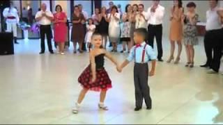 uninhibited children dancing