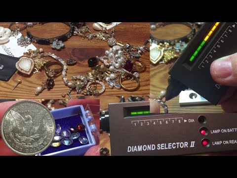 Diamond Detector II Review: Finding Diamonds and Gold!!!