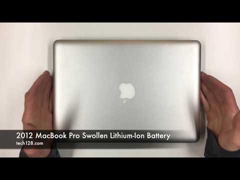 2012 MacBook Pro Swollen Lithium-Ion Battery