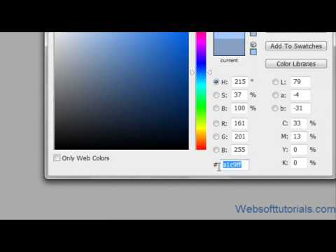 html and css Tutorial - 16 - How to change background and foreground color with css