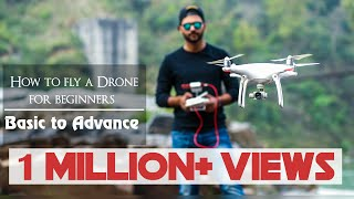E03 : How to fly a drone for beginners | Basic shots to advance shots