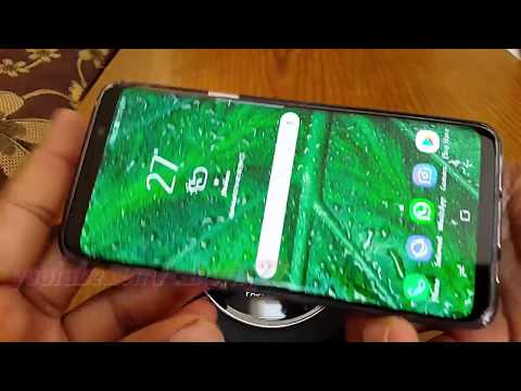 Samsung Galaxy S9 : How to Enable or Disable Portrait mode only panel (Android Oreo)