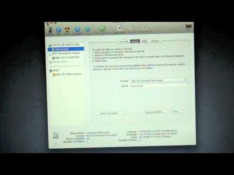 How to do a Clean install of OS X Lion on Mac