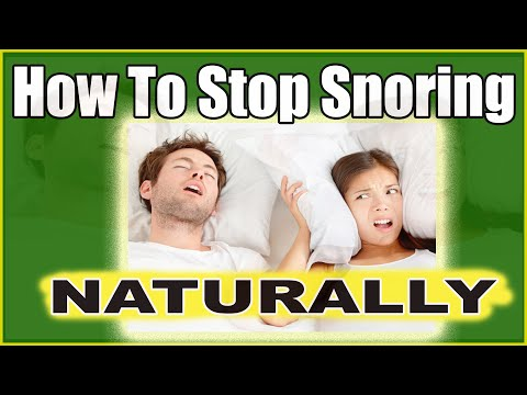 How To Stop Snoring Naturally While Sleeping (AMAZING Snoring Tips That Work)