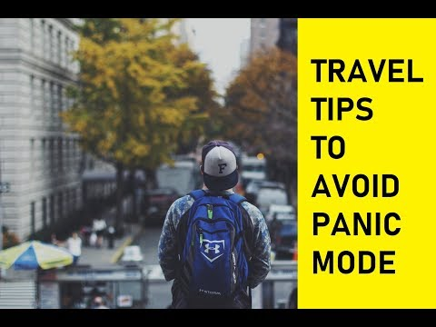 Avoid PANIC MODE | Travel Tips for Masters Students |