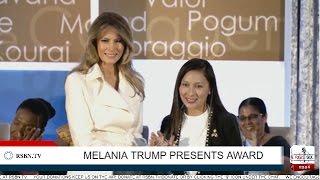Full Speech: Melania Trump Presents International Women of Courage Award