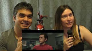 Download Spiderman Far From Home Trailer Reaction Video