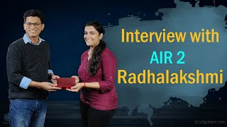 Interview | CA Final May 2019 | AIR 2 | Radhalakshmi | Success Mantra for CA Students