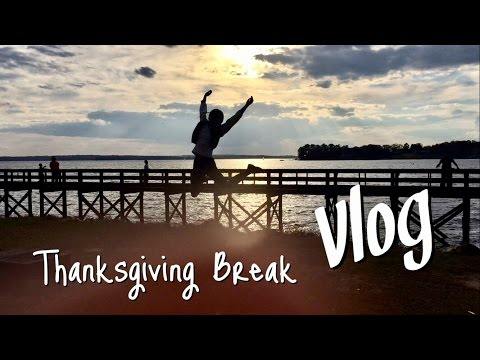 Travel Vlog|Thanksgiving Break in Charleston & Columbia, SC