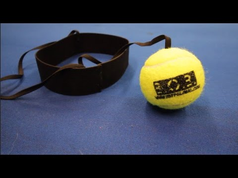 BALL ON A BAND - HAND EYE COORDINATION DRILL FOR BOXING REFLEXES