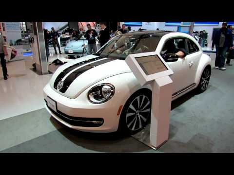 2012 Volkswagen Beetle Turbo Exterior and Interior at 2012 Toronto Auto Show
