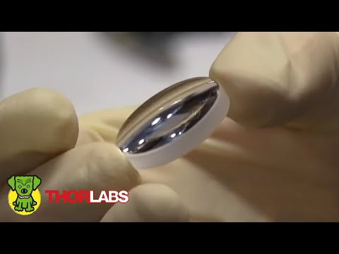 Thorlabs Optical Lens Production
