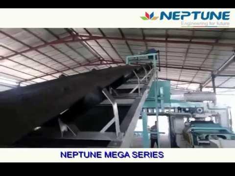 300 TON -FLY ASH BRICK MAKING MACHINE - NEPTUNE MEGA SERIES