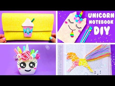 DIY UNICORN SCHOOL SUPPLIES for Back to School (Part 2) | Easy & Cute Hacks