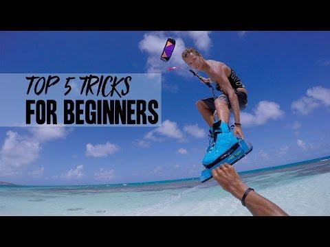 Kiteboarding: Top 5 Tricks For Beginners!